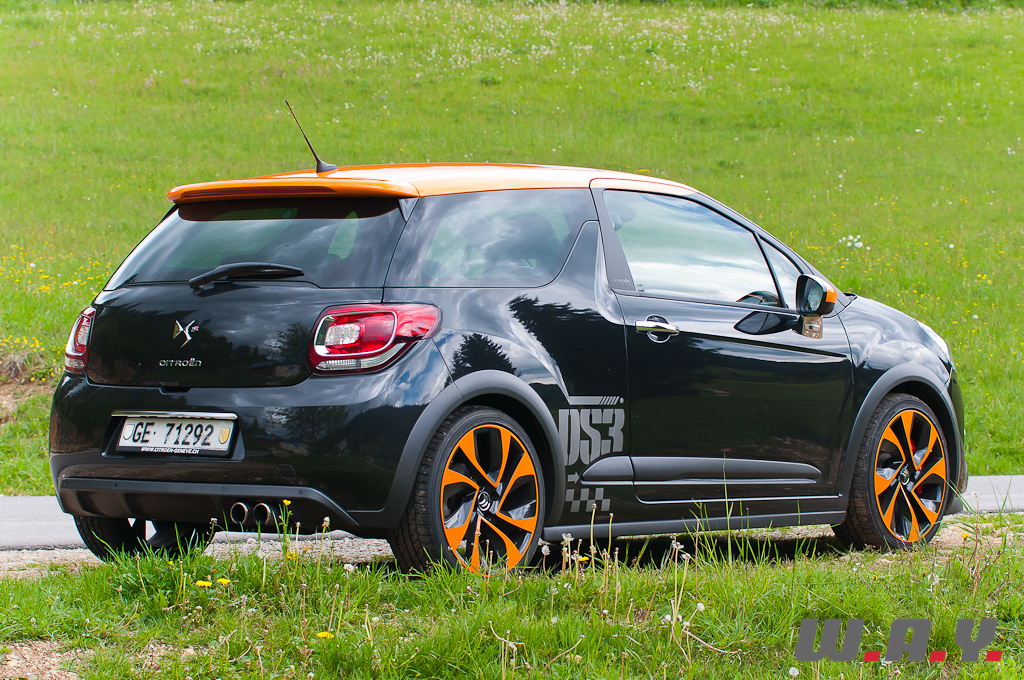 essai citro n ds3 racing orange m canique wheels and. Black Bedroom Furniture Sets. Home Design Ideas