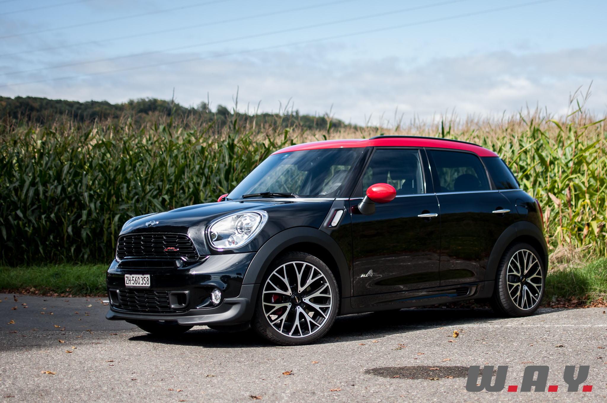 essai mini countryman jcw all4 la plus aboutie des mini wheels and. Black Bedroom Furniture Sets. Home Design Ideas