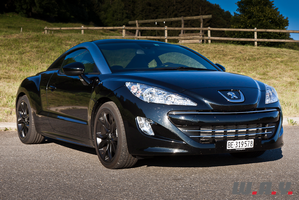 peugeot rcz prix occasion peugeot rcz r 1 6 thp 270 ch blackline coup noir occasion 30 000 35. Black Bedroom Furniture Sets. Home Design Ideas